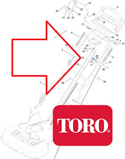 Genuine TORO Timemaster 20975 BLADE BBC CABLE (works the blades) 120-6243 464#X