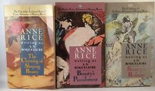 THE CLAIMING OF SLEEPING BEAUTY TRILOGY by A.N. ROQUELAURE (ANNE RICE)