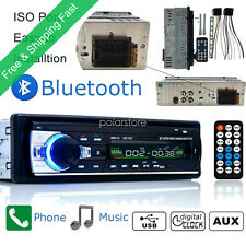 Car Radio Coche Bluetooth In-Dash 12V SD/USB/AUX FM Estéreo MP3 Reproductor 1DIN