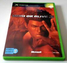 """Jeu XBOX """"Dead or Alive 3"""" complet en boîte (n°5809)"""
