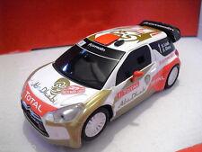 SCX Ref.  A10158S300 CITROEN DS3 WRC ABUDHABI   1/32    NUEVO   NEW
