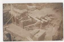 Italy, Archeology, Archeolical Dig Real Photo Postcard #2, A978