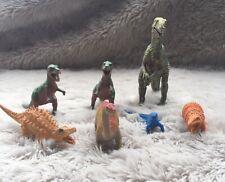 Lot of 7 Dinosaur Toys