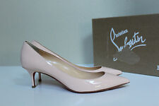 9 / 39.5 Christian Louboutin Pink Pigalle Follies Pointed Toe Low Heel Pump Shoe