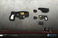 "ZYTOYS 1/6 Pistol Model DIY Assembled Taser X26 Stun Gun Weapon Toy F 12"" Doll"