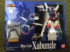 Bandai Soul of Chogokin / SOC GX-28 - Blue Gale Xabungle + Brockary!