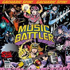 Gacharic Spin MUSIC BATTLER First Limited Edition B CD DVD Japan VIZL-883