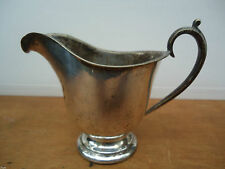 Antique Silver Plate Sauce Boats