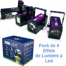 Pack lumière 4 effets à LED STARLIGHT STARWAY