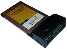 4 Port USB 2.0 CardBus / PCMCIA Adapter for Laptop