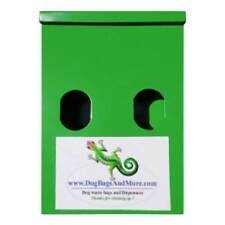 Dog Waste Bag Dispenser All Metal + Lock + 500 Biodegradable Pet Poop Bags #51