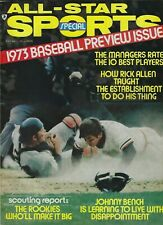 ALL-STAR SPORTS MAY 1973- BASEBALL PREVIEW ISSUE