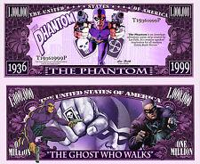 Le FANTOME billet MILLION DOLLAR US! Série Super Heros Comics bd Phantom Bengale