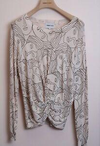 BIMBA Y LOLA Damen Women Pullover Sweater Langarm Muster Herbst Winter NEU