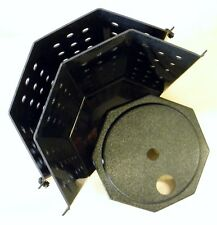 Sump Pump Bucket / Lid - TWO PIECE - Fits small crawlspace openings Basement