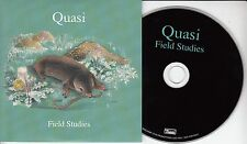 QUASI Field Studies 2016 UK 14-track promo CD Sleater Kinney