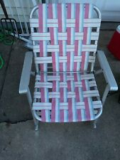 Vintage Aluminum Rocking Lawn chair