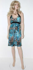 Ladies In Vogue Green Party Dress One Size