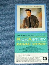 "RICK ASTLEY Japan 1988 R15D-3 Tall 3"" inch CD Single SHE WANTS TO DANCE WITH ME"