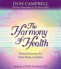 The Harmony Of Health: Sound Relaxation for Mind, Body and Spirit,Campbell, Don,