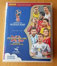 Panini World Cup 2018 Adrenalyn XL. Complete NORDIC Binder (all 486 cards)