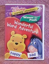 Disney: Winnie the Pooh - Wonderful Word Adventure   (DVD)   LIKE NEW