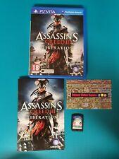 PS VITA : Assassin's creed 3 Liberation
