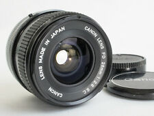 Excellent+++ Canon FD 28mm F2.8 S.C. From Japan (K03)
