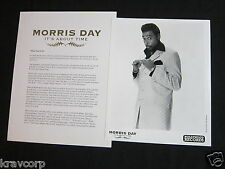 MORRIS DAY 'IT'S ABOUT TIME' 2004 PRESS KIT--PHOTO