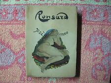 Ronsard : Poèmes, illustrations de Roger Carle chez Landru