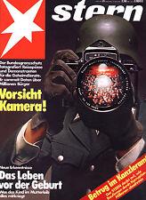 Magazin STERN  Nr  21 v 1979; Bundesgrenzschutz fotografiert; Idi Amin heiratete
