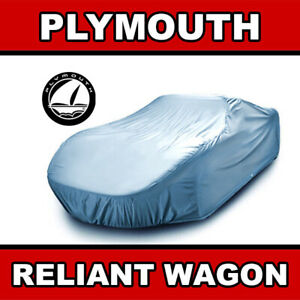 Fits. [PLYMOUTH RELIANT WAGON] 1986 1987 1988 1989 CAR COVER ☑️ Best ✔CUSTOM✔FIT