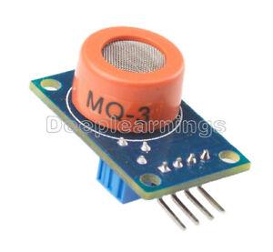 2PCS MQ-3 MQ3 Alcohol Sensor Module Breath Gas Detector Ethanol Detection