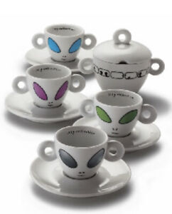 Illy Collection, Alien Cups by David Byrne, 2001