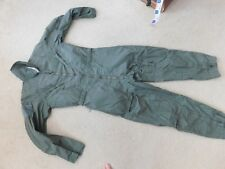 US ARMY NOMEX  FLYER'S FLIGHT SUIT CWU 27/P SIZE 40R