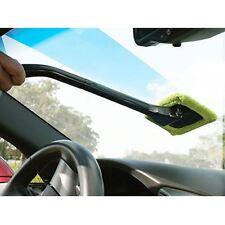 New Microfiber Cloth Windscreen Car Van Glass Cleaner Demister Detachable Handle