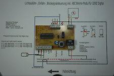 Steuerung & Bremsmodul für LENZ Digital & Viessmann 4413,4412,4411, D frei