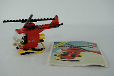 Lego Classic City 6685 Fire Copter with instructions no box 1982