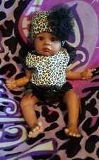 Reborn doll, ethnic, can be a girl or boy, See all photos please,  very nice!!!