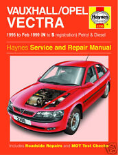 Haynes Manual Vauxhall Opel Vectra Gasolina Diesel 95-99
