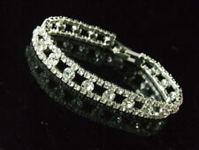 Rhinestone Bracelet Great for Bridesmaids Prom Pageant