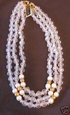 Vintage Tacoa 3 Strand Beaded Necklace Nwt