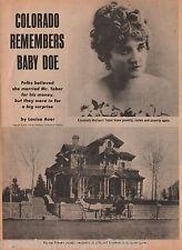 Baby Doe-The Silver Queen of Colroado + Family-Chaffee, Chilcott,Modjeska,Tabor