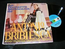 LA GUITARRA Mexicana DE ANTONIO BRIBIESCA LP Funny Cover with Cape ORFEON US Iss