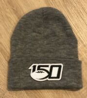2019 NCAA College Football 150th Anniversary Beanie Toboggan 150 Patch Style