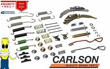 Premium Carlson Brake Drum Hardware Kit for Chevy K1500 Pickup Truck 11 in Drums