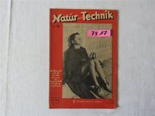 Natur und Technik Nr. 16 1948 Wedding Verlag Berlin DDR Wissenschaft Forschung