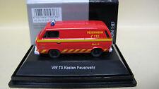 """Schuco 1:87 Volkswagen T3  Kasten """" Feuerwehr """"   Art. 25613"""