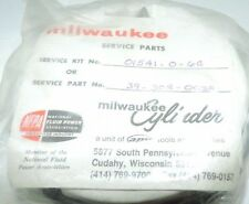 MILWAUKEE O.E.M. CYLINDER PARTS SERVICE PART Kit # 01541-0-6C, SP # 39-302-0038