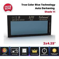 Auto Darkening Welding Lens Shade 11 True Color Blue For Pipeliner Welding Hood